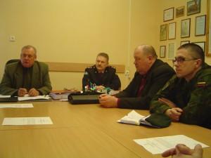Šilutės ESVC aptarė priemones, kaip aprūpinti maistu potvynio zonos gyventojus.