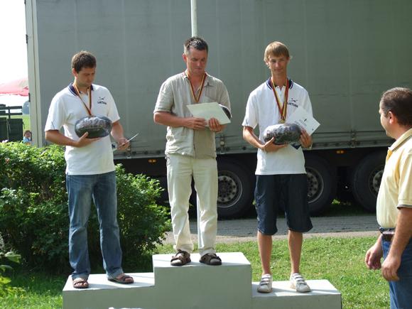 K. Jurkštas (dešinėje) Biržuose laimėjo 2 medalius. (K. Jurkšto asmeninio archyvo nuotr.)