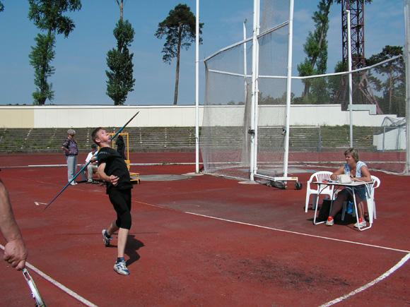 Sektoriuje II vietos laimėtojas G. Šiaulinskas. (B. Mulskio nuotr.)