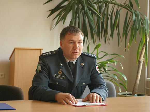 A. Pupšys. (policija.lt nuotr.)