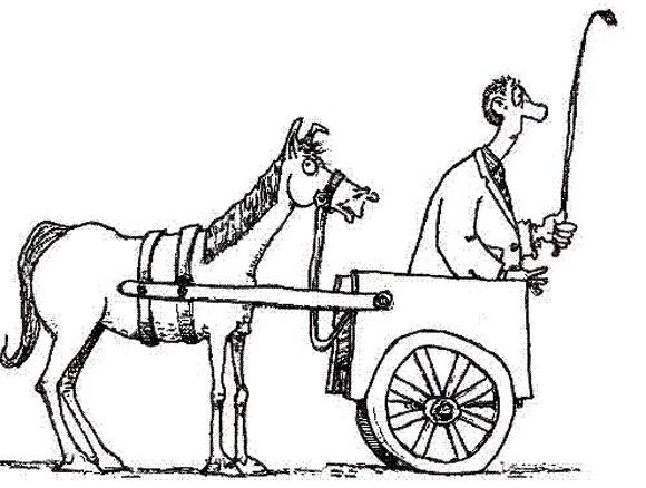 Šilutėje ir vežimas kartais rieda pirma arklio.