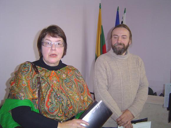 Angelė ir Vytautas Raukčiai pripažinti sėkmingiausiai dirbančiais Lietuvos tradiciniais amatininkais. (Oresto Lidžiaus nuotr.)