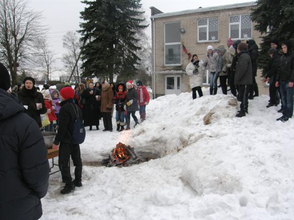 Gardamo pagrindinė mokykla - viena iš tų, kurias gali paliesti planuojama mokyklų tinklo pertvarka. (www.silutesetazinios.lt archyvo nuotr.)