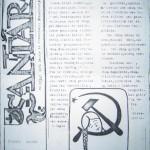 'Santara', 1991 m., Nr.1, 1 psl., maketas