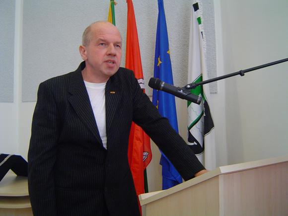 E. Vitkausko liberalams koalicijos partneriai atidavė direktoriaus pavaduotojo pareigas. (Oresto Lidžiaus nuotr.)