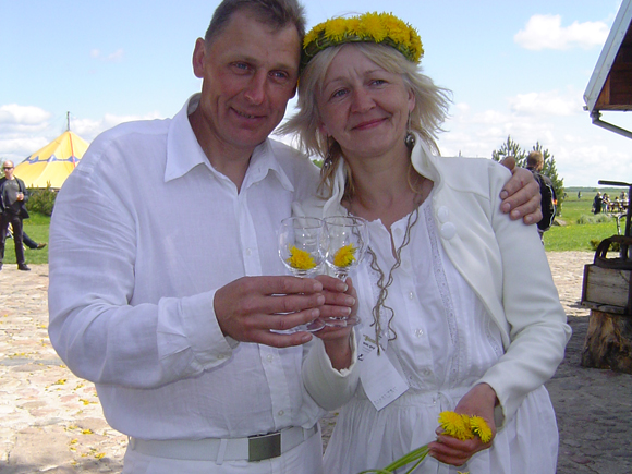 Tatjana ir Česlovas Ramoškos. (www.silutesetazinios.lt archyvo nuotr.