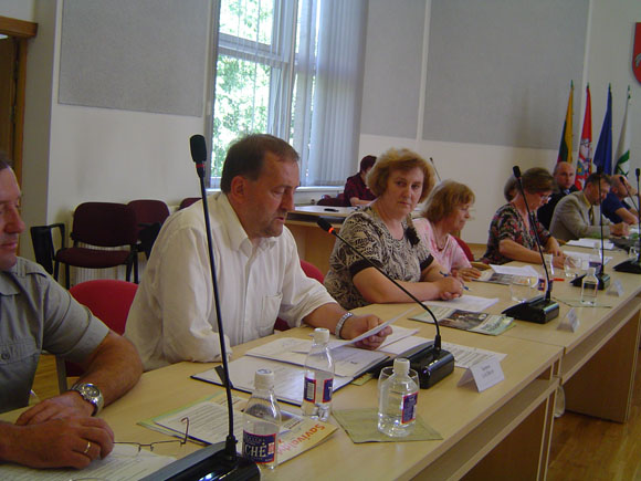 Š. Laužiko vadovaujama tarybos opozicija sėkmingai atlaikė 'darbiečių' puolimą. (silutesetazinios.lt archyvo nuotr.)