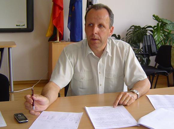 Šilutės seniūnas R. Steponkus. (Oresto Lidžiaus nuotr.)