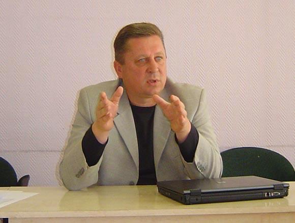 A. Jako vadovaujamas komitetas užsibrėžė tikslą sugrąžinti Šilutės savivaldybę į pirmaujančiųjų gretas. (Oresto Lidžiaus nuotr.)