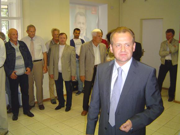 A. Skardžius teigė esąs įsitikinęs, kad po rinkimų į Seimą naują Lietuvos valdančiąją daugumą formuos socialdemokratai. (Oresto Lidžiaus nuotr.)