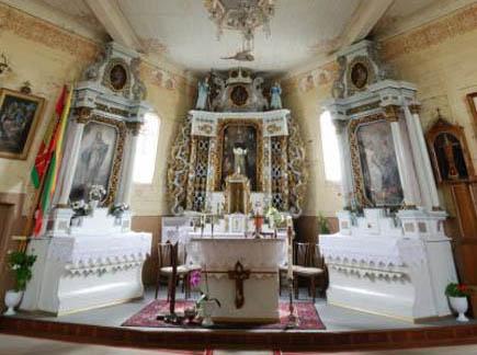 Degučių bažnyčia. (KPD nuotr.)
