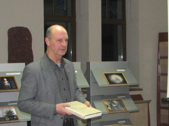 Knygos autorius D. Kaunas. (F. Bajoraičio bibliotekos nuotr.)
