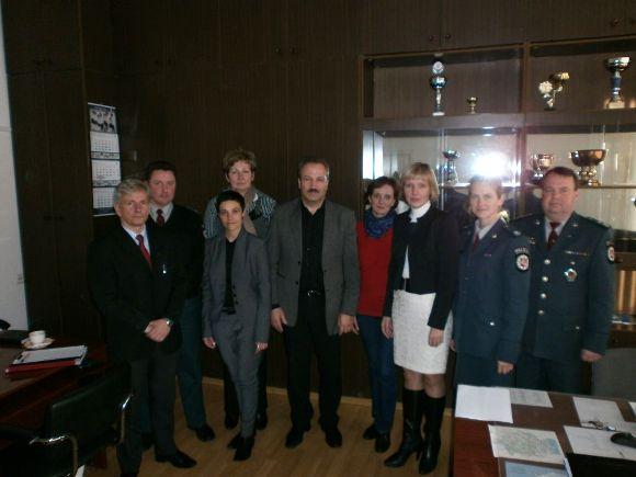 Šilutės policijos visuomeninė taryba. (TAVPK nuotr.)