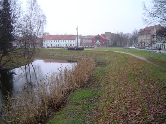 Oficialioji Šilutė užsimojo atgaivinti istorinį miesto Šilokarčemos kvartalą. (Oresto Lidžiaus nuotr.)