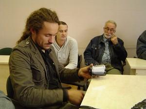 D. Vilius ir Etikos komisijos posėdyje nepaleido iš rankų filmavimo kameros.