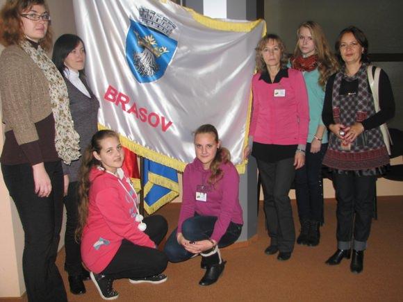 Katyčių mokyklos delegacija Rumunijoje. (Katyčių mokyklos nuotr.)