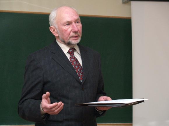 Etnologas L. Klimka. (LEU nuotr.)