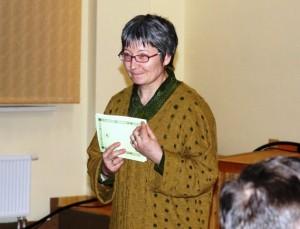 Vydūno draugijos pirmininkė Rima Palijanskaitė.