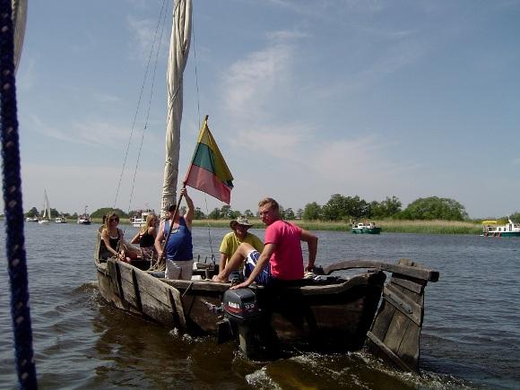 Planuojama, kad pirmieji turistai 'Žuvies kelio' maršrutais galės plaukti jau šiemet. (Oresto Lidžiaus nuotr.)