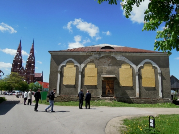 Švėkšnos sinagoga. (KPD nuotr.)