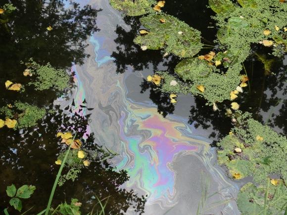 Savivaldybė pagaliau prisiruošė pašalinti Šyšos upės taršos naftos produktais šaltinį ties Šilutės ligonine. (Edvardo Lukošiaus nuotr.)