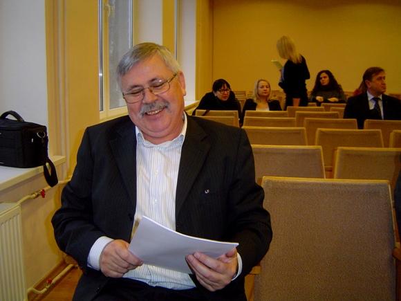 UAB 'Įtampa' vadovas A. Bekeris išrinktas asociacijos 'Šilutės VVG' pirmininku. (Oresto Lidžiaus nuotr.)