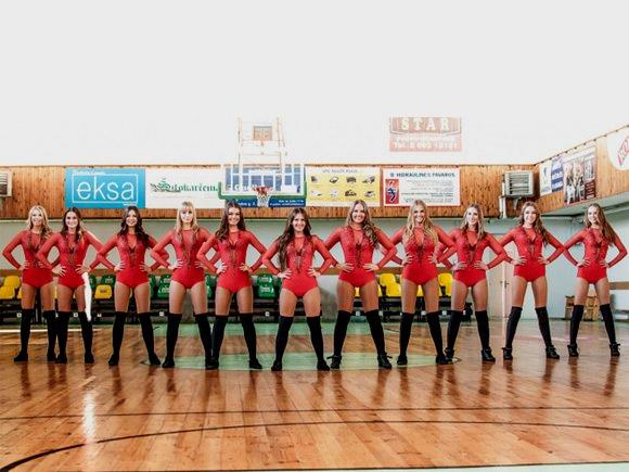 'Šilutės' klubo šokėjos. (www.nklyga.lt nuotr.)