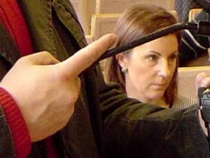 Mero patarėja I. Murauskienė.