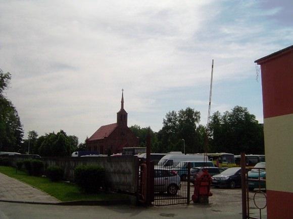 Šilutės autobusų parko teritorijoje gali iškilti nauja autobusų stotis ir prekybos centras. (Oresto Lidžiaus nuotr.)