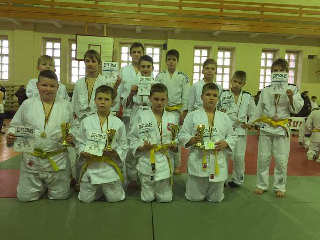 12 dalyvių - 10 medalių. (R. Lukošiaus nuotr.)