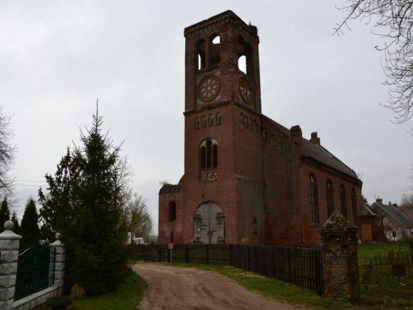 Buvusi Plaškių evangelikų liuteronų bažnyčia. (Muziejaus nuotr.)