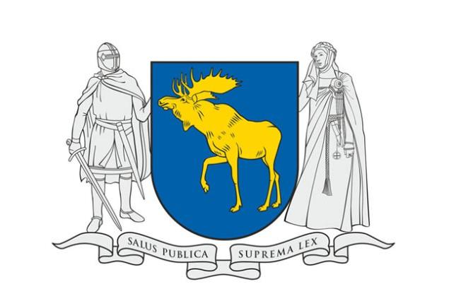 Taip atrodė pirmasis Mažosios Lietuvos herbo variantas. Vėliau jis buvo gerokai pakeistas, tačiau darbo grupei vizualizacijų viešinti neleido Heraldikos komisija. (www.silutesetazinios.lt archyvo nuotr.)