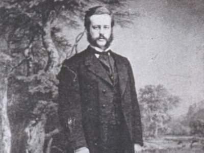 A. Kitelis (Arthur Kittel, 1838-1926 m.) 1866 metais. (Nuotrauka iš 'Annaberger Annalen')