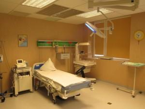 Visa Tauragės ligoninės Akušerijos - ginekologijos skyriuje sumontuota įranga - nuo ginekologinių apžiūrų kėdžių iki naujagimių inkubatorių - nauja ir inovatyvi.