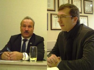 V. Laurinaičiui (kairėje) teks paneigti 2017-ųjų rudenį paskleistus tikrovės neatitinkančius ir L. Indriuškos (dešinėje) garbę bei orumą žeminančius teiginius. (www.silutesetazinios.lt montažas)