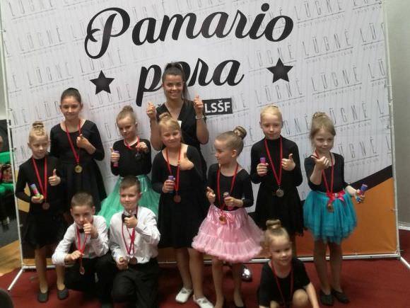 Sportinių šokių klubo 'Lūgnė' nuotr.