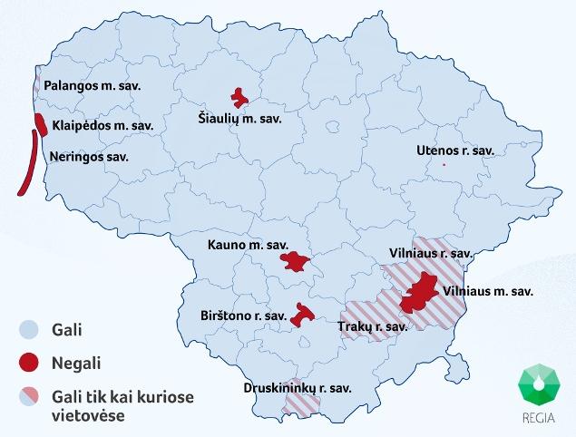 Sužinok, kurioje Lietuvos teritorijoje jaunos šeimos galės įsigyti būstą ir gauti valstybės subsidiją.