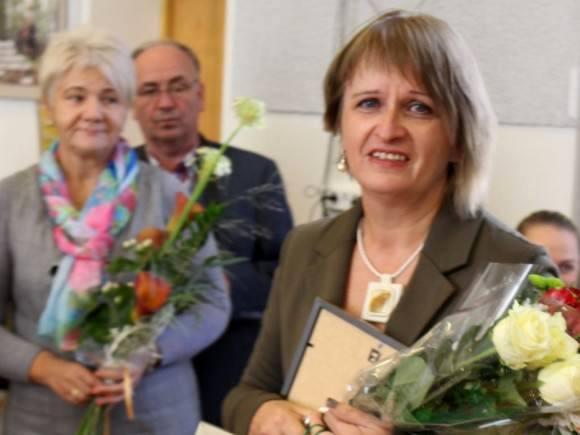 Metų socialine darbuotoja išrinkta A. Judeikienė iš Saugų. (www.silute.lt nuotr.)