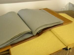 H. Kuršaičiui priklausiusios Brailio rašto knygos.