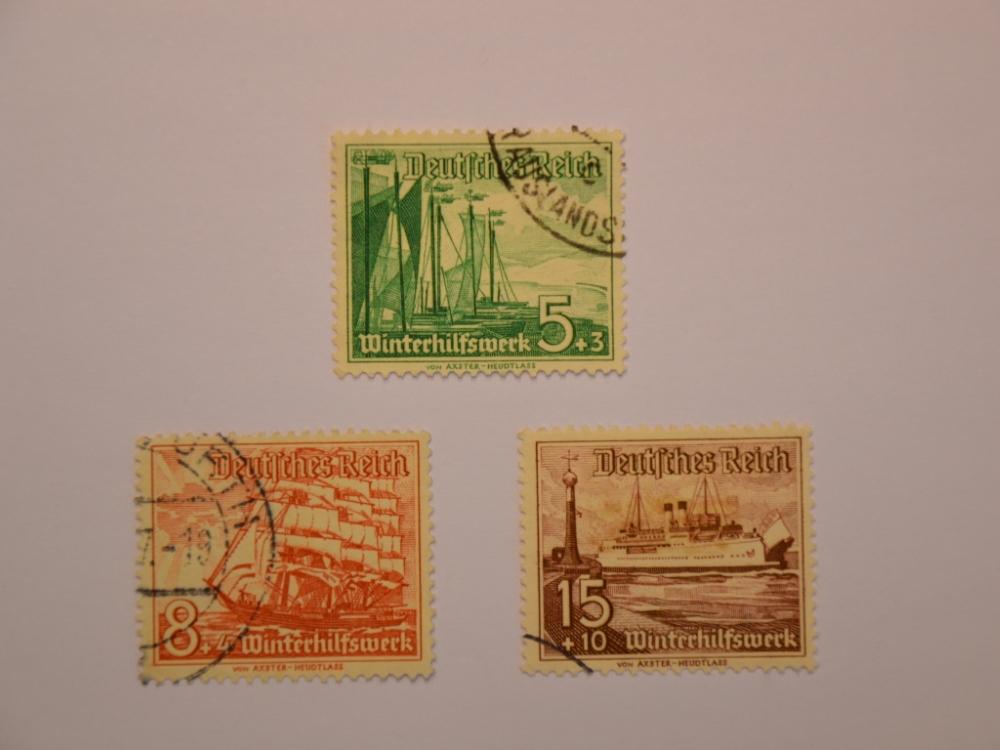 Kurėnai ant vokiško pašto ženklo. (H. Šojaus muziejaus nuotr.)