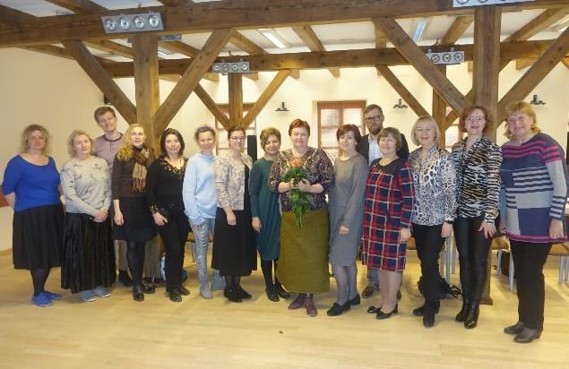 Naujos kadencijos Mažosios Lietuvos regioninės etninės kultūros globos tarybos nariai. (S. Sodonio nuotr.)