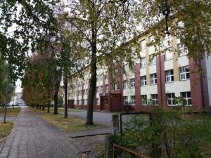 Gatvės po 'Žibų' mokyklos langais nebus, žada V. Pozingis.