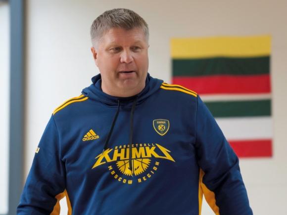 Šiuo metu dirbantis treneriu užsienyje Robertas Kuncaitis nuo seno pažįsta A. S. Nausėdą. (S. Gvildžio nuotr.)