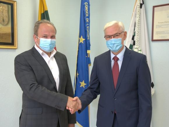 V. Laurinaitis kviečia balsuoti už Z. Balčytį. (asmeninio archyvo nuotr.)