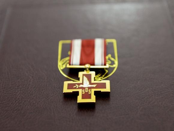 Žūvančiųjų gelbėjimo kryžius. (www.lrp.lt nuotr.)